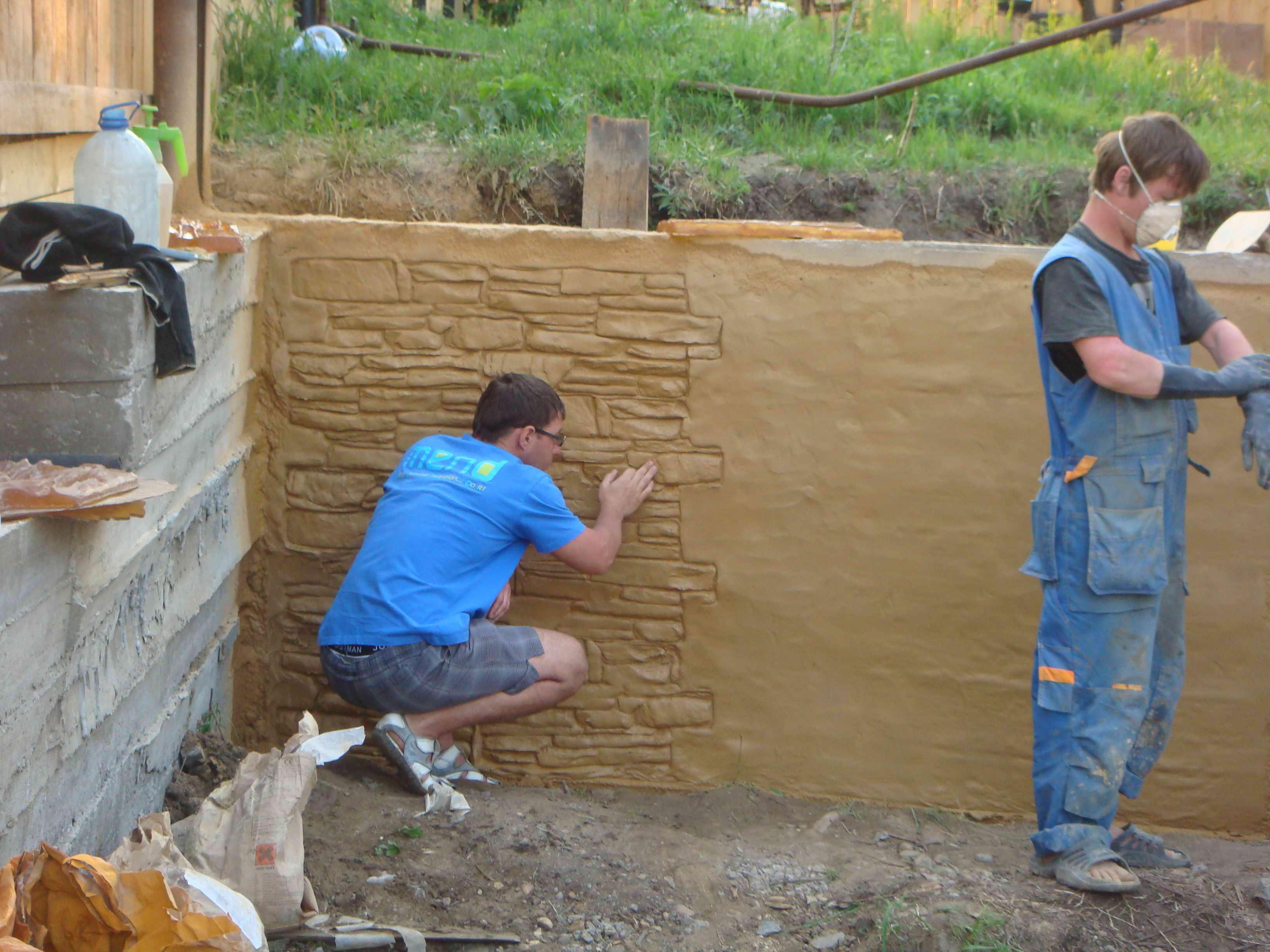 Подпорная стена из пеноблоков своими руками 82